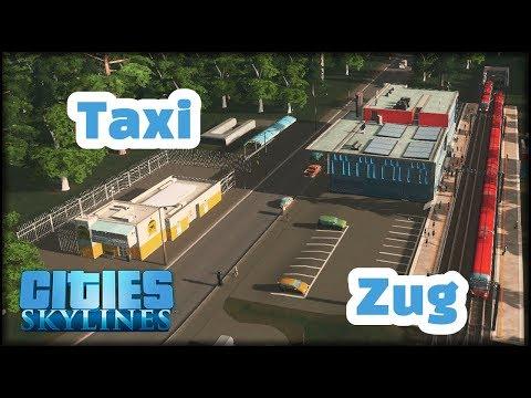 Jetzt mit neuen Zügen und Taxis in meiner Stadt | Cities: Skylines #48