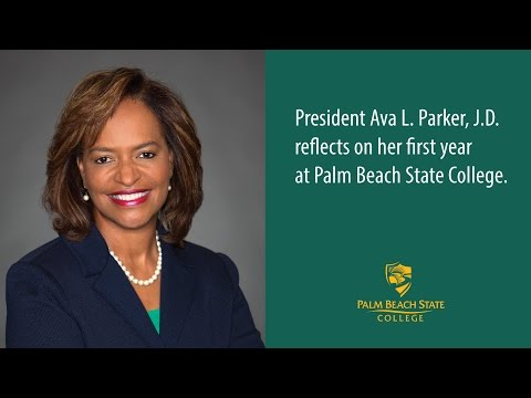 PBSC President Ava L. Parker, J.D. reflects on her first year.