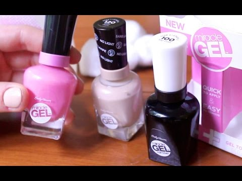 Gel Nail Polish With No Lamp - REVIEW - YouTube