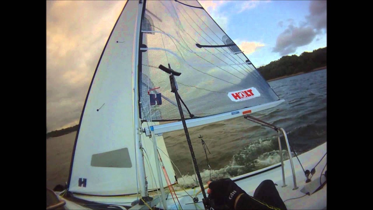 Xenon Dinghy First Attempt To Use The Trapeze Youtube Harness For Sailboat