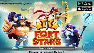 Fort Stars Gameplay (EN) Mobile RPG