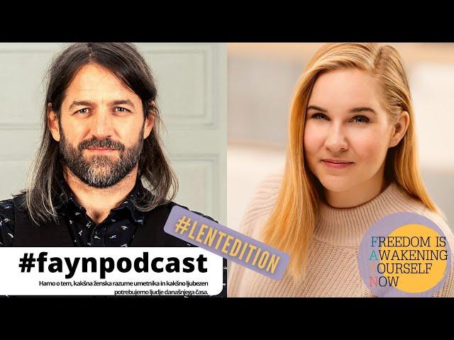 F.A.Y.N. podcast z Majo Monrue: Hamo o tem, kako skladišči navdih in kakšna ženska ljubi umetnika