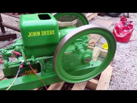 JOHN DEERE 1 1/2 HP EBAY ENGINE RUNNING