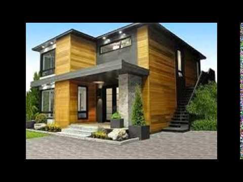 Narrow Lot House Plans - YouTube