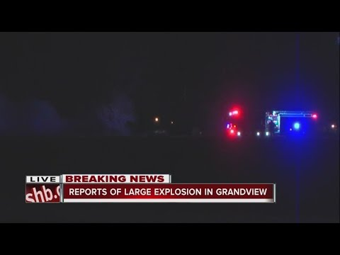 Explosion reported in Grandview, Mo.