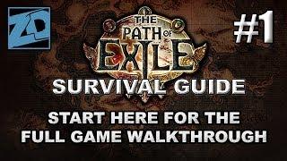 The Path of Exile Survival Guide #1: The Beginning - Full Game Beginner's Walkthrough thumbnail