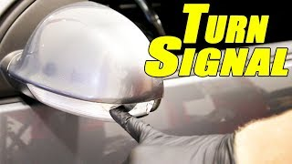 How to Replace a Mirror Turn Signal on a MK5 GTI