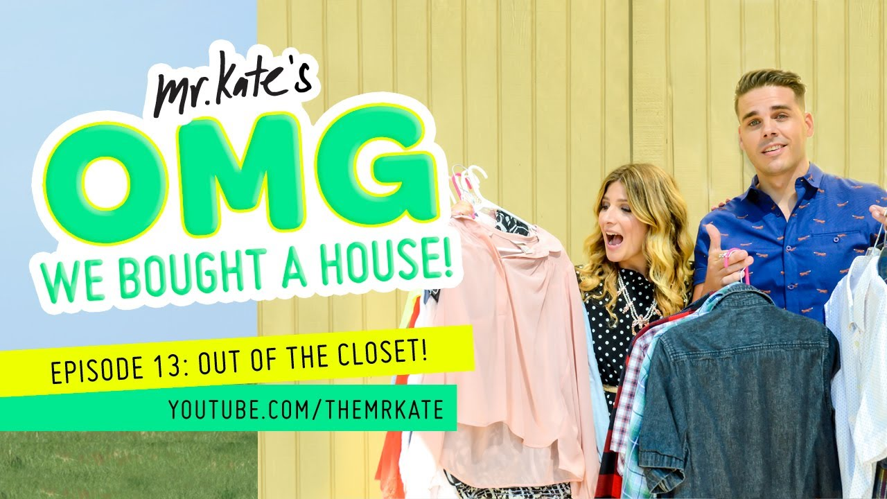Out Of The Closet! | OMG We Bought A House!