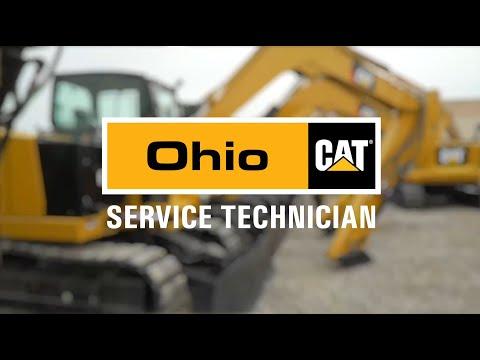 Ohio CAT Caterpillar Dealer Service Technician