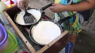 How to make tapioca (Brazilian crepe)