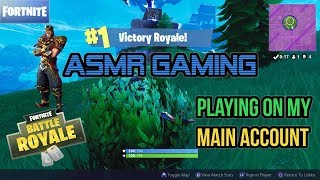 ASMR Gaming - France Fortnite Playing Solo On My Main Account (Wukong) ★Controller Sounds - Whispering