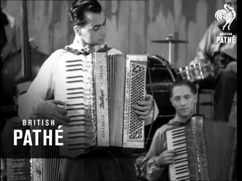 Billy Reid And His London Accordion Band In Bohemian Memories (1933)