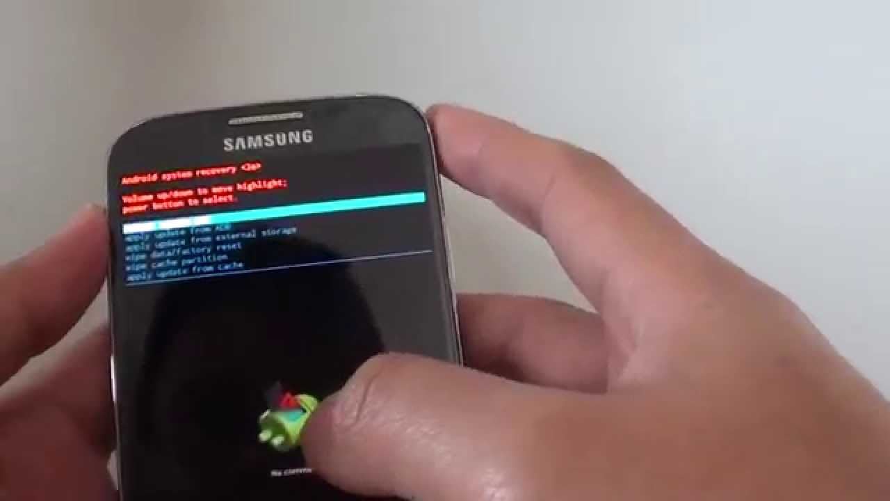 Samsung galaxy s4 how to clear and wipe cache partition youtube ccuart Choice Image