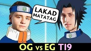 OG just HAVING FUN vs EG — make TI9 look like PUB