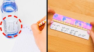 BACK TO SCHOOL TO GET A+! || Life Saving School Hacks Every Student Should Know