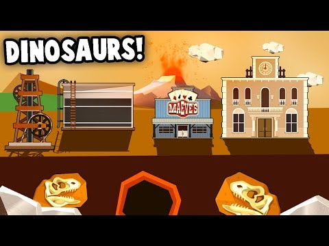 DINOSAUR FOSSILS!  Amazing Discoveries & OIL RICHES! (Turmoil The Heat Is On DLC Gameplay)