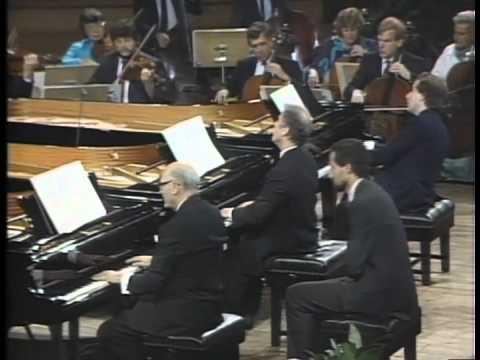 Mozart: Concertos K242 / Solti, Schiff, Barenboim - YouTube