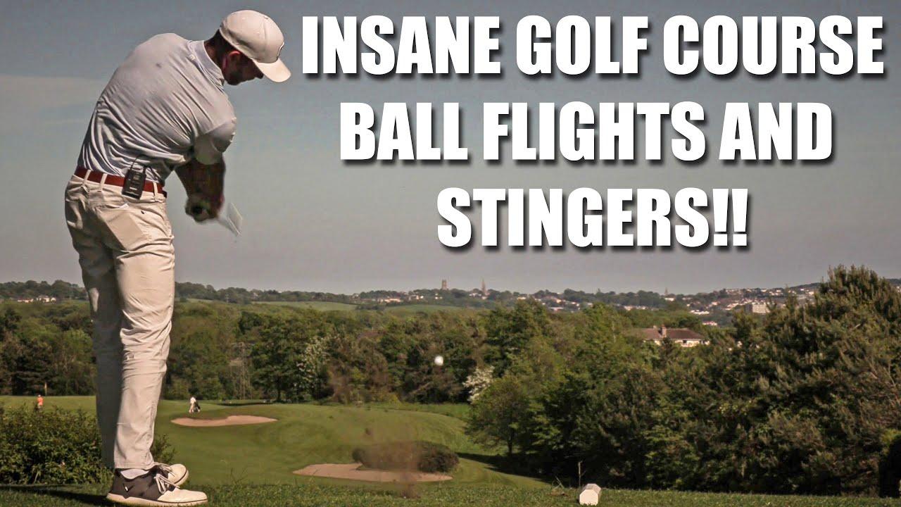 INSANE GOLF COURSE BALL FLIGHTS - Harry Flower