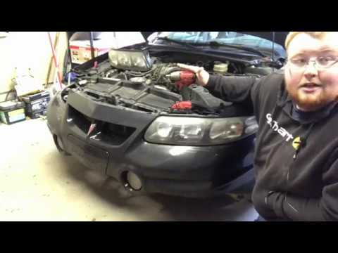 2000 2005 Pontiac Bonneville Headlight Bulb Removal