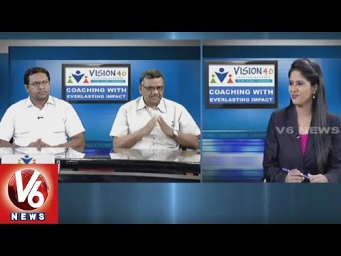 Career Point | IIT & JEE Coaching | Vision 40 Academy | V6 News