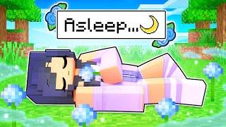 Aphmau Fell Alseep FOREVER In Minecraft!