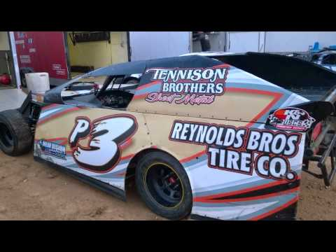 Camden Speedway 9/13/14 Cars in Pits by Green Works Racing