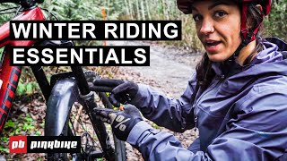 How to Survive Winter Mountain Bike Rides