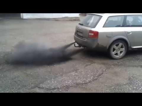 Audi allroad quattro, black smoke problem