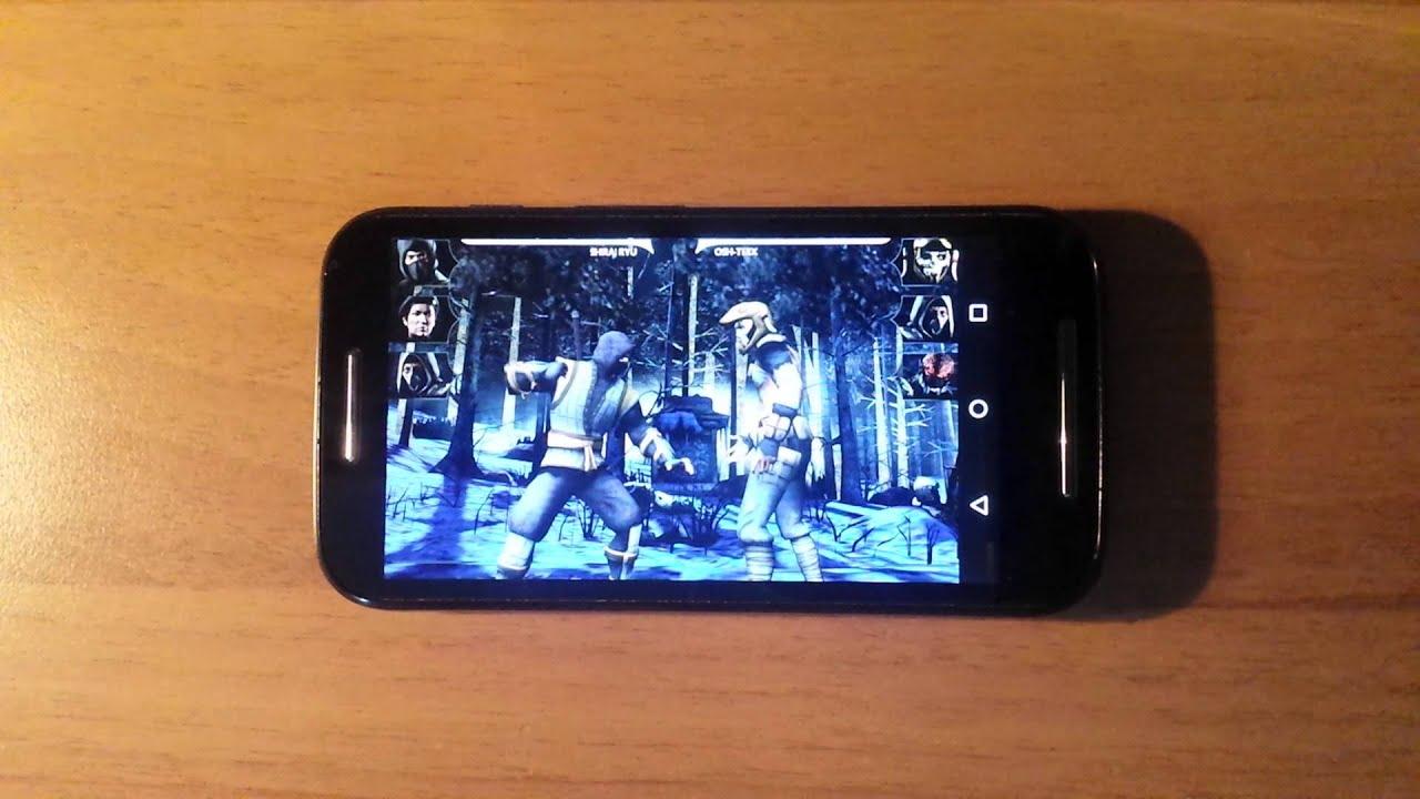 Mortal Combat X - Motorola Moto E - Android 5 1 1 Lollipop