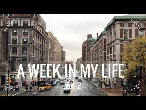A WEEK AT COLUMBIA Vol. 2 | Med School Interview + Thirdstory Concert