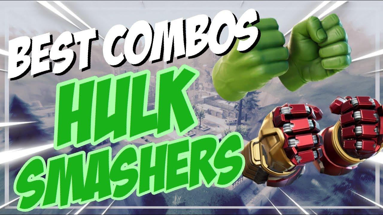 Best Chapter 2 Combos | Hulk Smashers | Fortnite Harvesting Tool Review