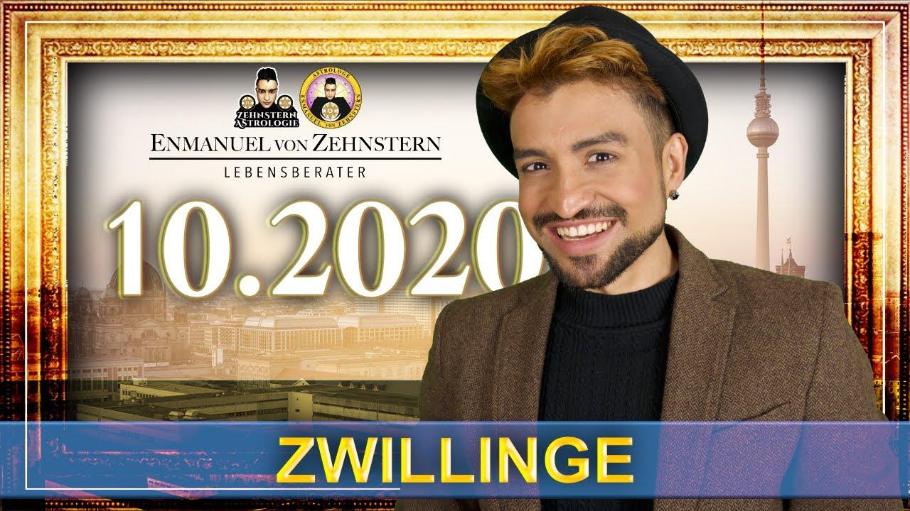 ZWILLINGE STERNZEICHEN UND ASZENDENT OKTOBER 2020   #ZehnsternAstrologie.com