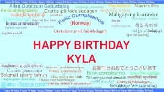Kyla   Languages Idiomas - Happy Birthday