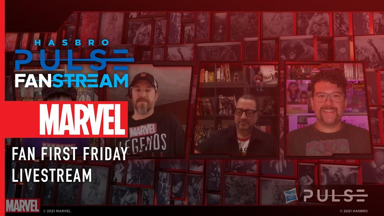 Fan First Friday   Marvel Legends Livestream