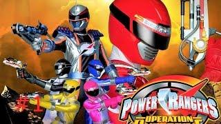 Sieu Nhan Game Play | Power rangers super legends #1 Siêu nhân sấm sét đen xuất trận