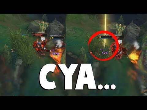 APHROMOO WITH THE IMPOSSIBLE LOW HP JUKE WILL MAKE UR DAY  | Funny LoL Series #376