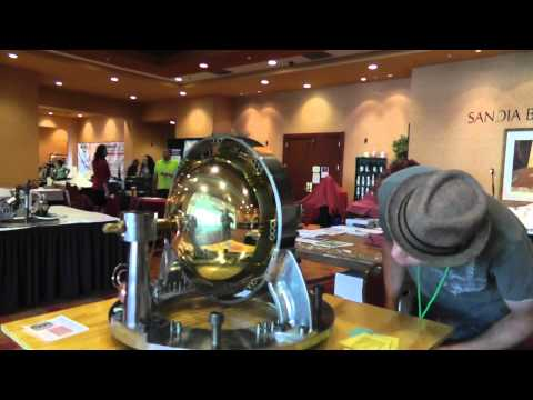 """""""Russ & the Dynasphere"""" Talking with Dale Pond @ tesla tech 2014"""