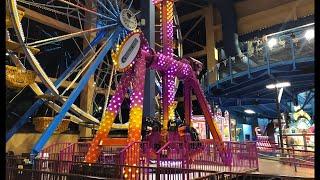 Wisconsin Dells Best Resort Kalahari Waterpark Theme Park Tour   Largest Indoor Water Park   4K