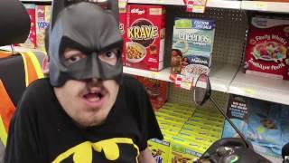 BATMAN GOES SHOPPING 🦇 - Ricky Berwick
