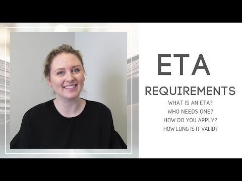 Requirements For An ETA (Electronic Travel Authorization) | Canada
