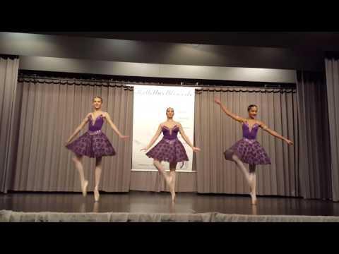 DAS STUDIO, Ballettschule in Frankfurt. Deutscher Ballettwettbewerb 2016. Junioren Trio Ballett