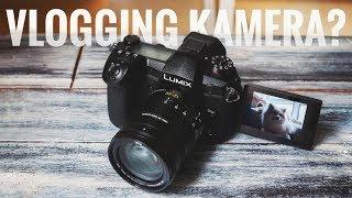 Ist die Panasonic G9 zum vloggen geeignet?
