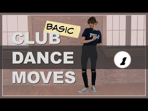 Club Dance Moves Tutorial For Beginners Part 1 (Basic CLUB DANCE Step For Guys) Heel in
