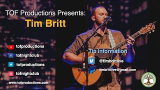 TOF Productions Presents: Tim Britt TRL - 10/29/2020