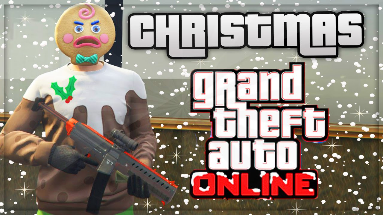 GTA 5 SNOW DLC - GTA ONLINE CHRISTMAS UPDATE ! (GTA 5 ONLINE ...