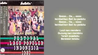 Yoppie Latul - Kembalikan Baliku / FLPI 1987 (Lirik)