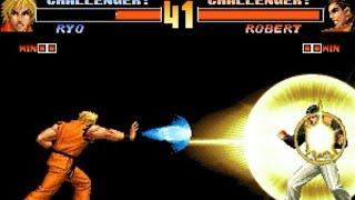 [TAS] Ryo VS Robert (KoF '98 AE)
