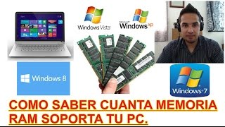 Download COMO SABER CUANTA MEMORIA RAM SOPORTA MI PC Mp3 and Videos