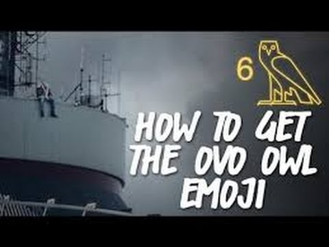 How To Get The OVO Emojis ⁶𓅓