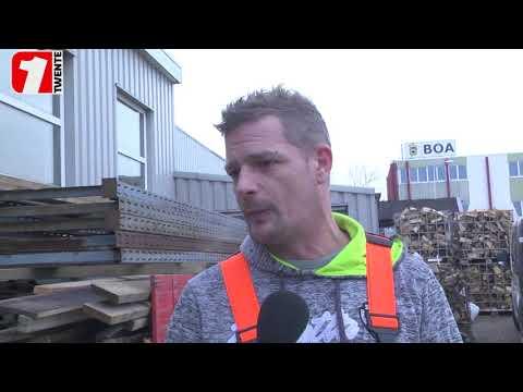 Reportage: Aveleijn opent nieuwe werkplaats in havengebied (1Twente)
